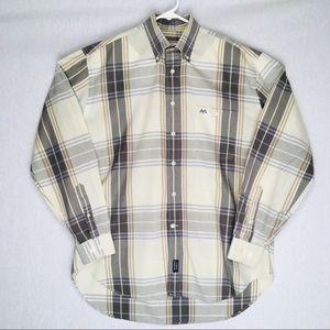 Thomas Burberry long sleeve button down shirt